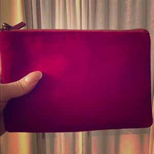 Suede Red Velvet 🍰 Clutch